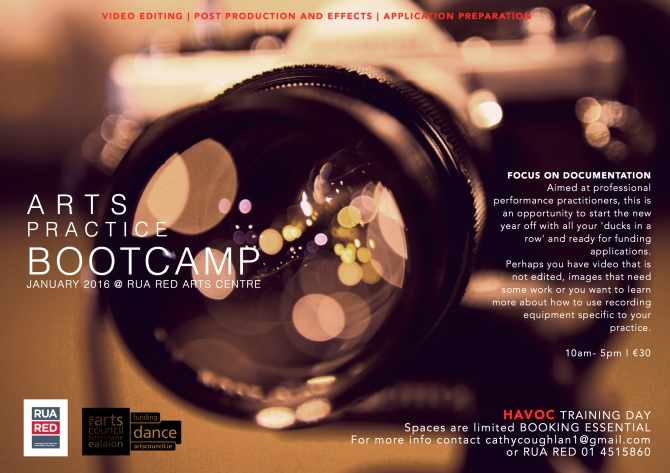 Bootcamp Flyer RUA RED